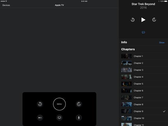 В приложении Apple TV Remote появилась поддержка iPad