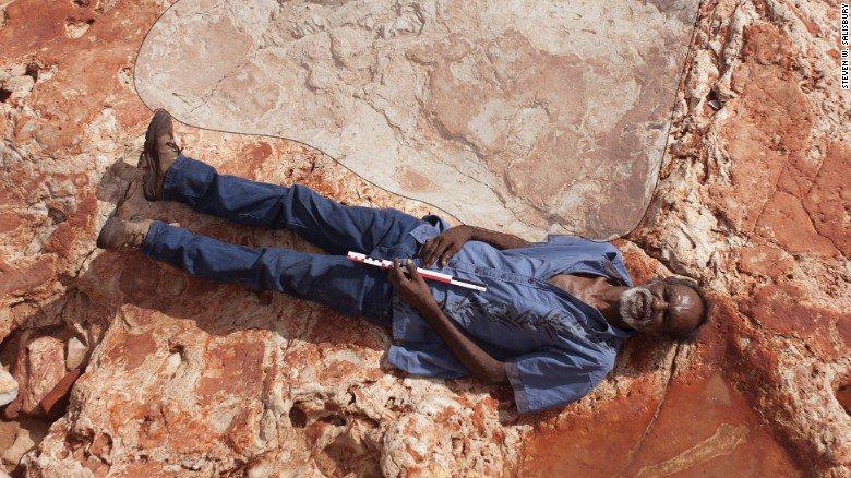 Ученые обнаружили след самого большого динозавра