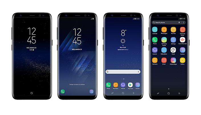 Смартфоны Samsung Galaxy S8 и S8 Plus