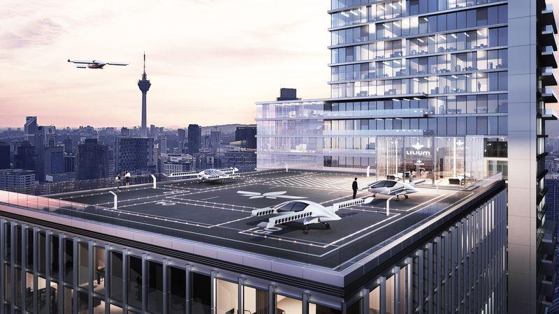 Летающий электрокар провел первый тестовый полет в Германии