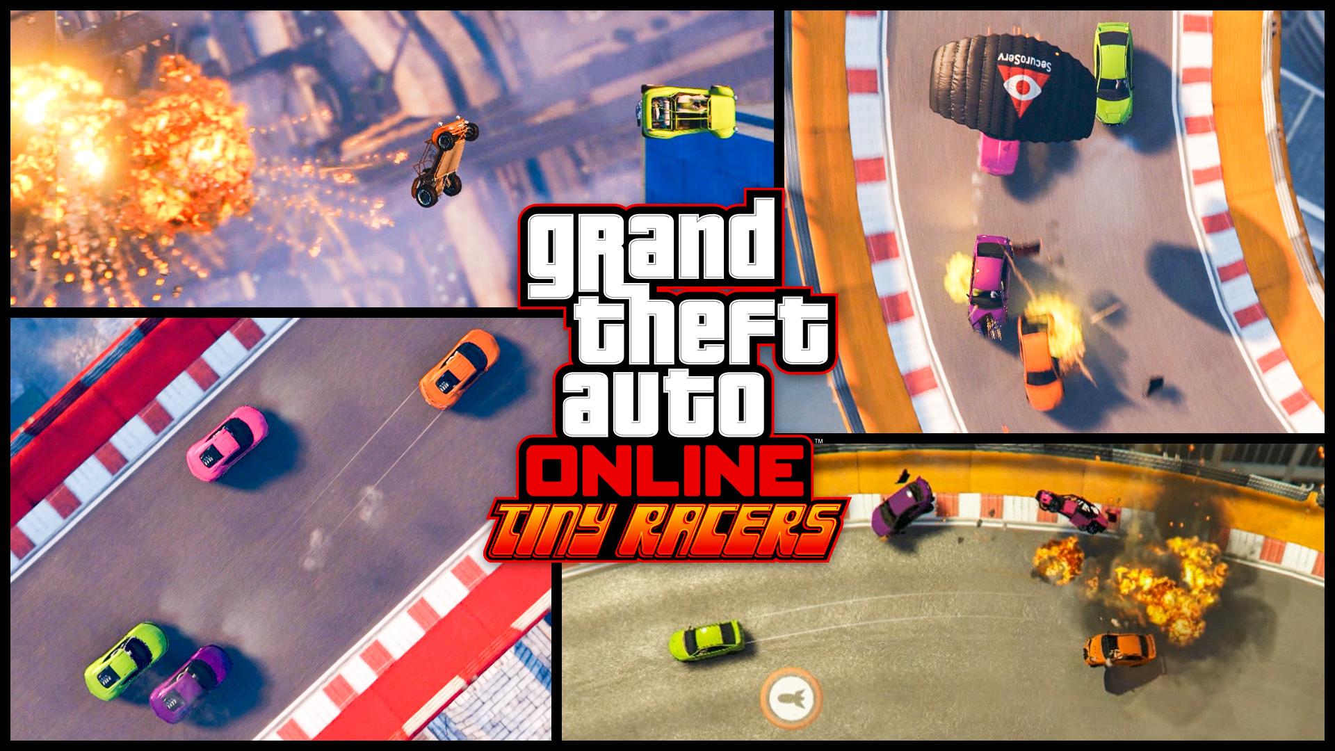 В GTA Online появится ретро-режим с видом сверху