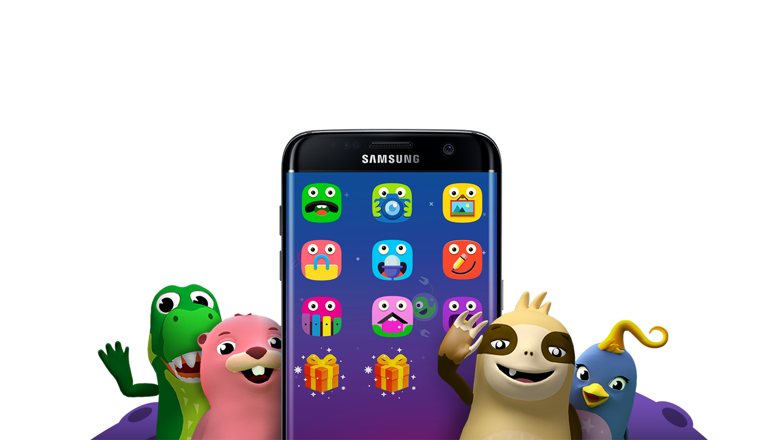 Mobile App Character Design : Samsung готовит детский режим для gear vr ferra