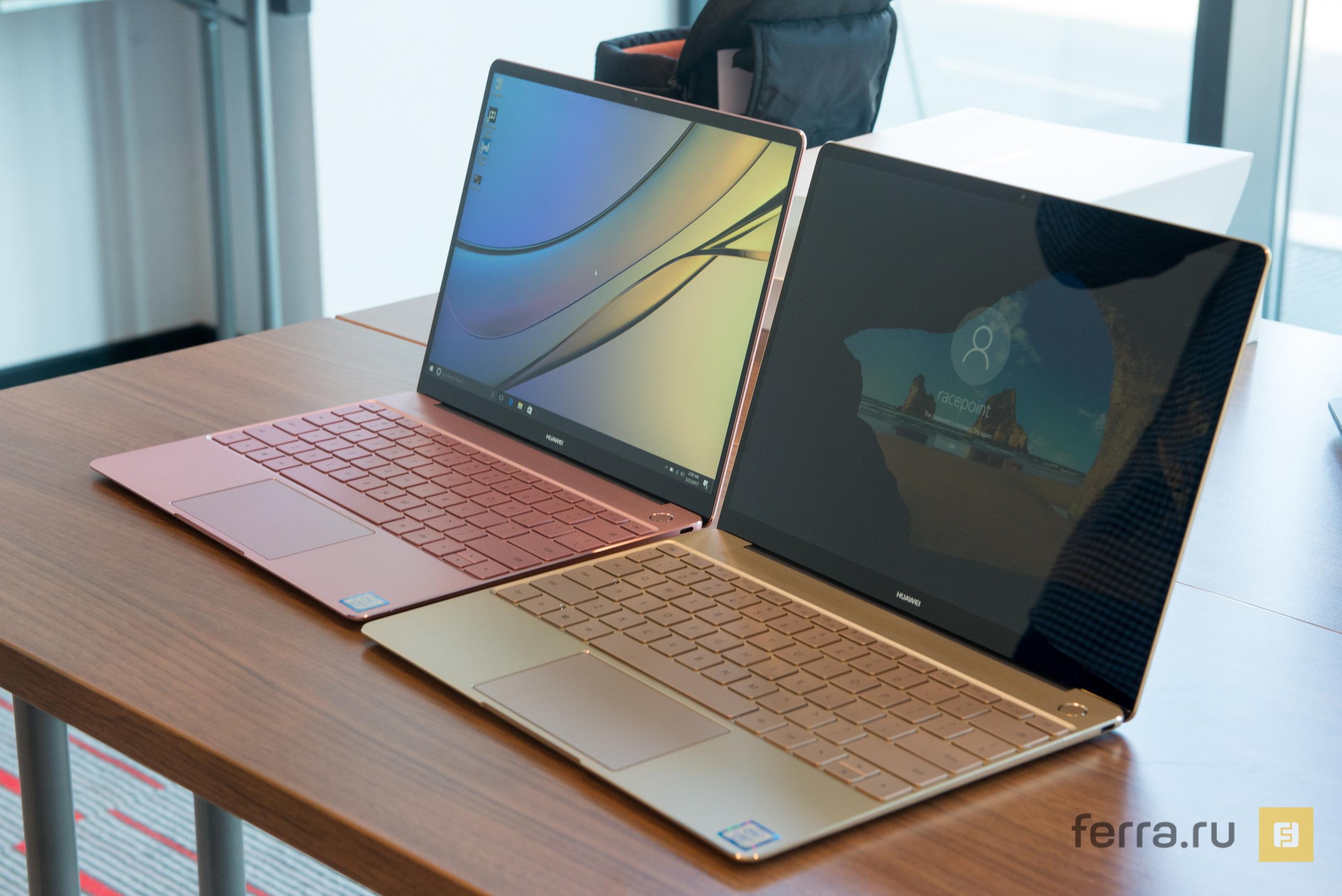 Huawei представила MateBook X в пику MacBook 12