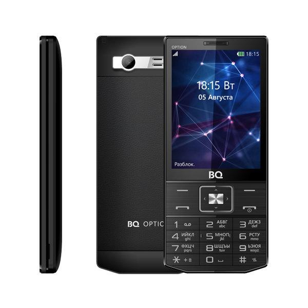 Кнопочный телефон BQ-3201 Option оснащен ТВ-тюнером