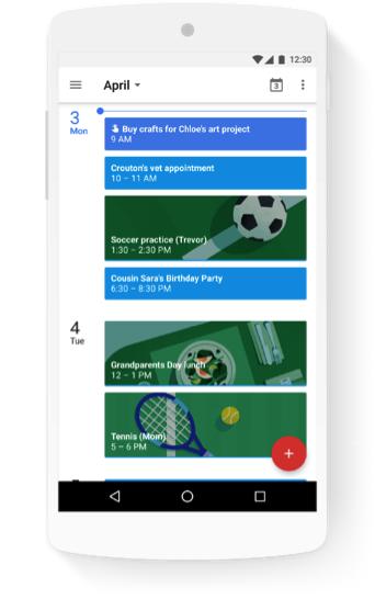 Google запустила семейный доступ к YouTube TV, Google Keep, Календарю и Фото