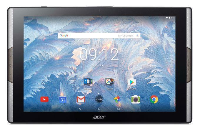 Планшет Acer Iconia Tab 10 получил дисплей на квантовых точках