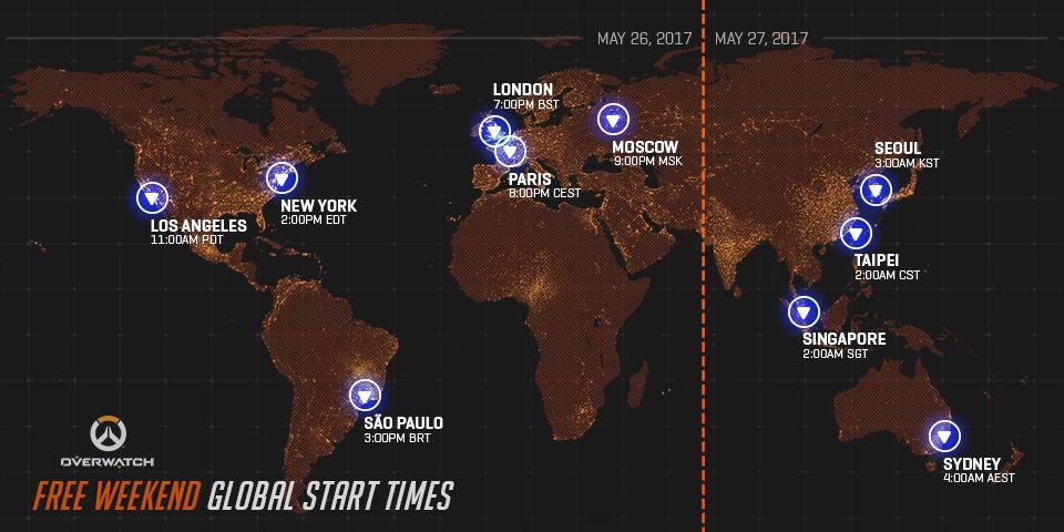 Стартуют бесплатные выходные в Overwatch