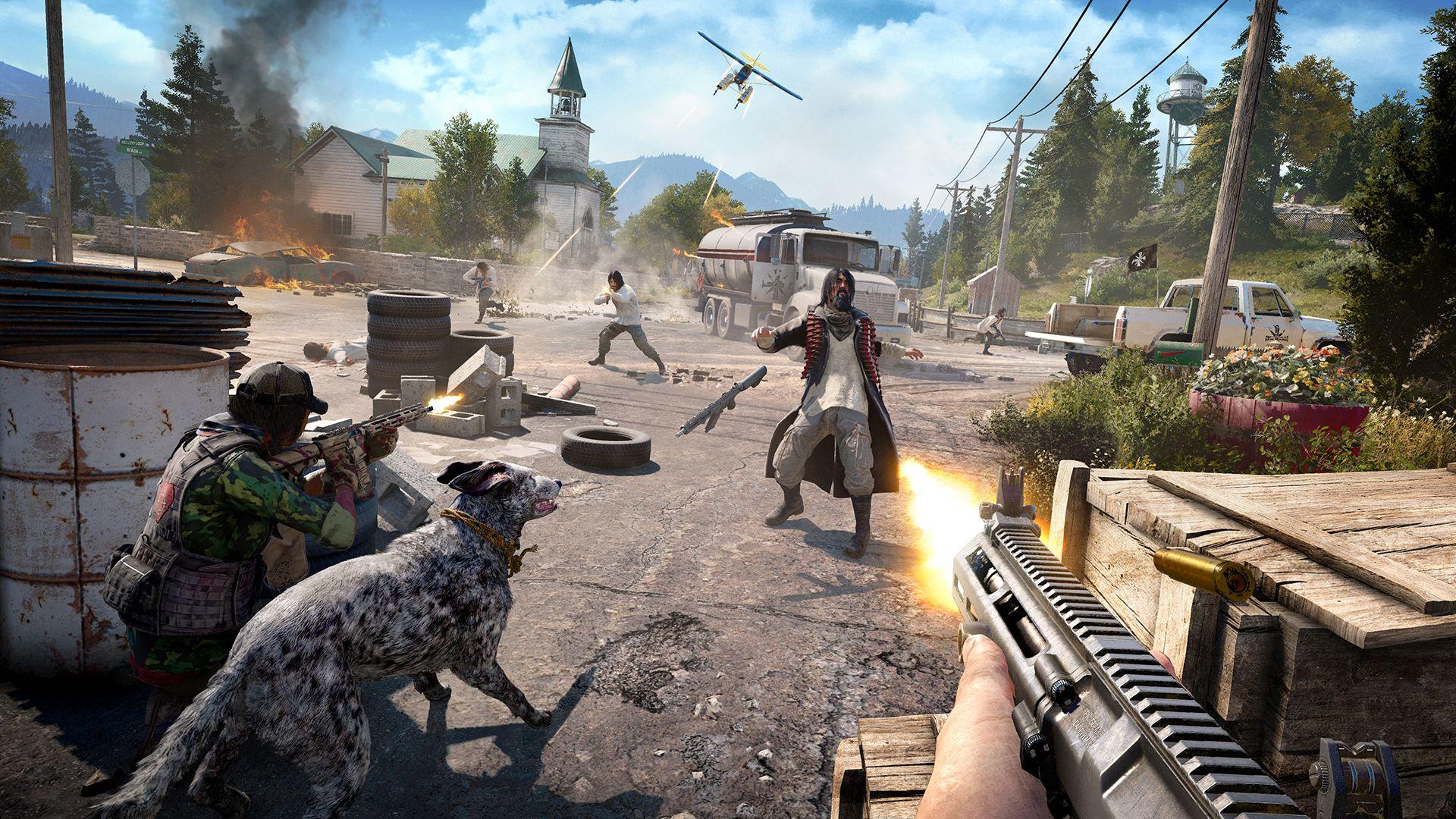 Ubisoft показала первый трейлер Far Cry 5