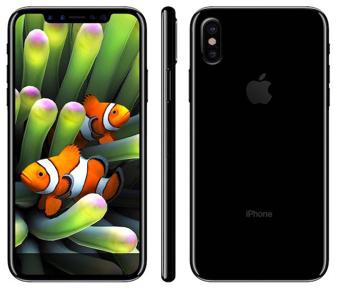 Apple интегрирует Touch ID в дисплей iPhone 8