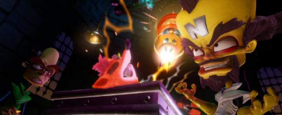 Представлено новое геймплейное видео Crash Bandicoot N. Sane Trilogy