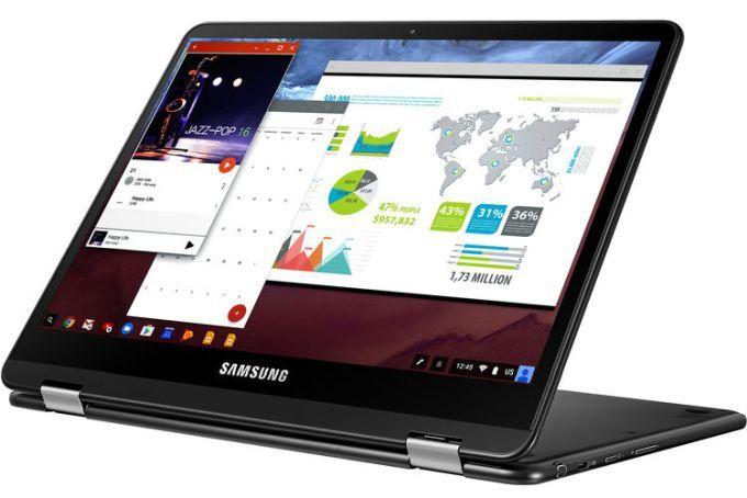 Хромбук Samsung Chromebook Pro поступил в продажу