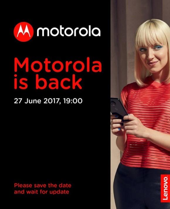 Запуск Motorola в России назначен на 27 июня
