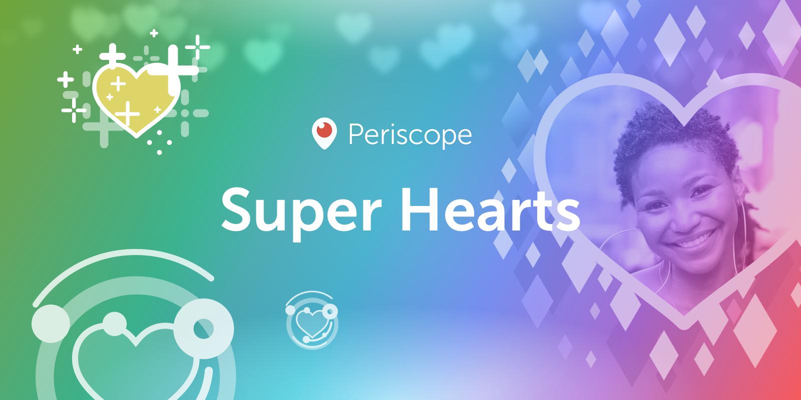 В Periscope появились платные суперсердечки