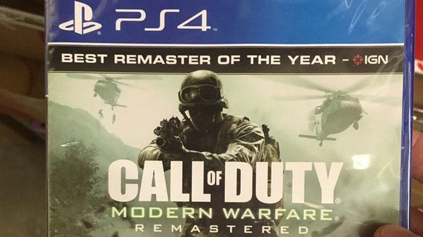 Call Of Duty 4: Modern Warfare Remastered выйдет отдельно 27 июня 2017 года