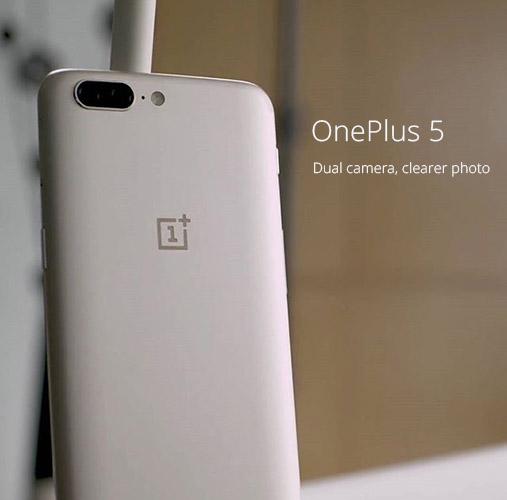 OnePlus 5 получит золотую расцветку