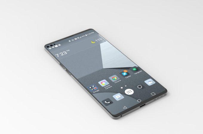LG V30 со стеклянной задней панелью получит беспроводную зарядку