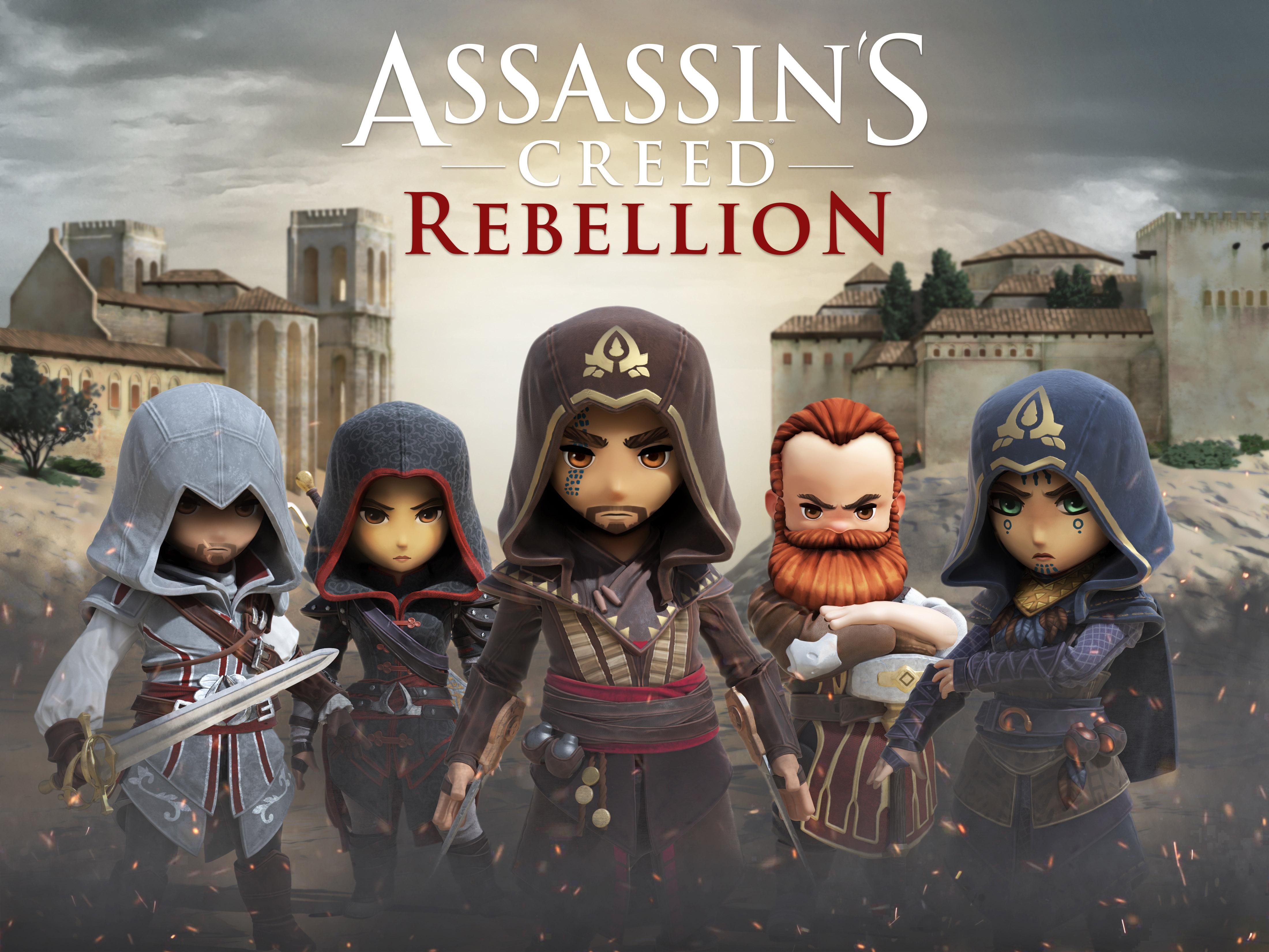 Ubisoft анонсировала Assassin's Creed Rebellion для iOS и Android