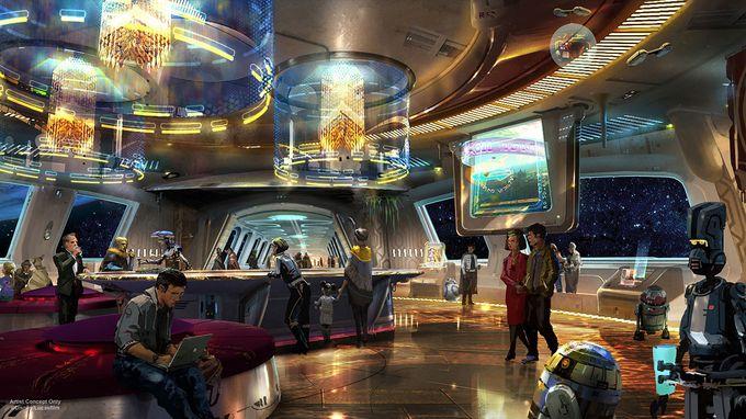 Disney откроет курорт с полным погружением во вселенную Star Wars