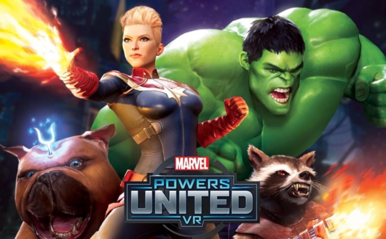 Анонсирована VR-игра Marvel Powers United VR