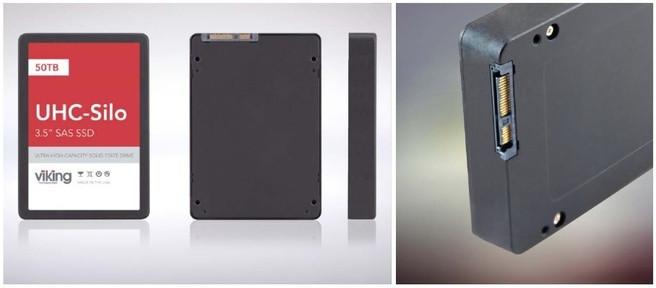 Viking Techology выпустила на рынок SSD емкостью 25 ТБ и 50 ТБ