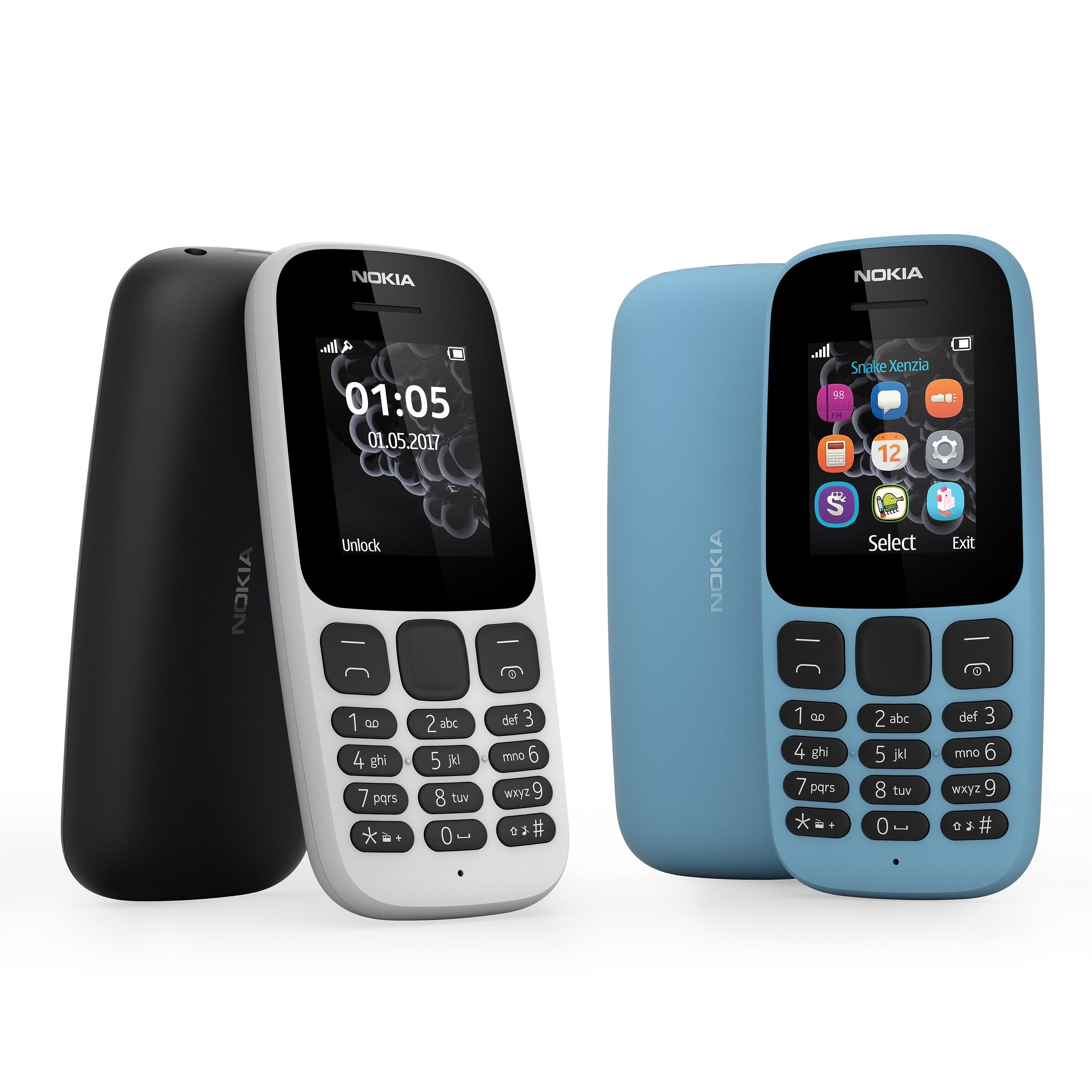 Телефон Nokia 105 представлен официально