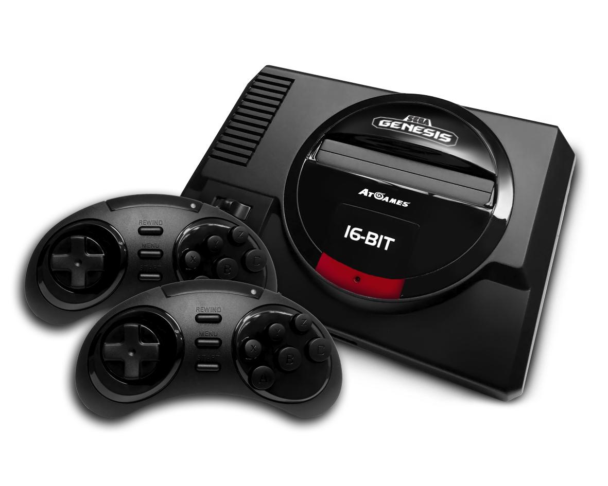 Ретро-консоль Sega Genesis Flashback появится осенью