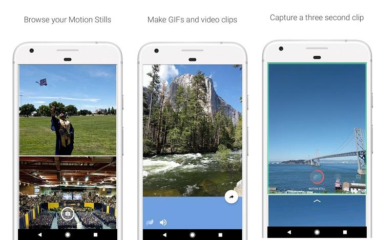 Google выпустила Motion Stills для Android