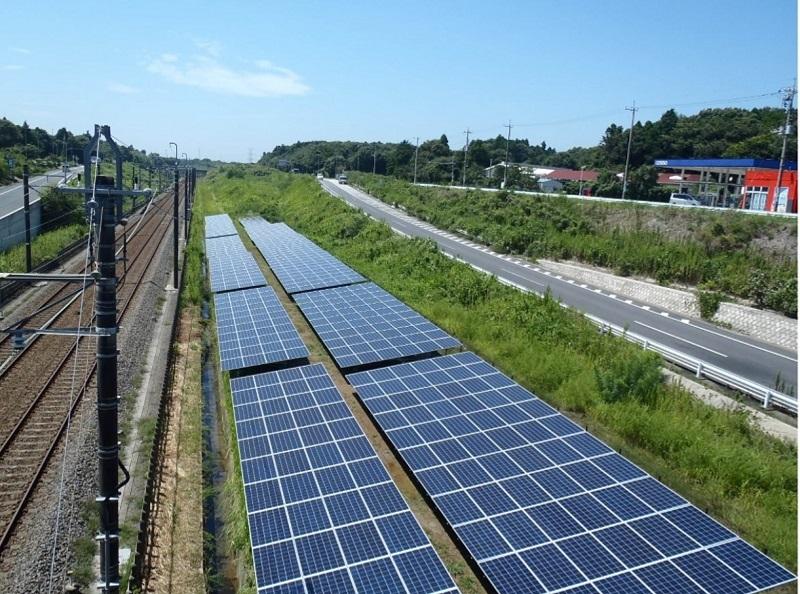 В Японии построили самую длинную солнечную электростанцию