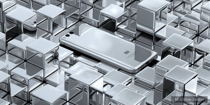 "Xiaomi представила ""зеркальный"" Mi 6 Mercury Silver Edition"