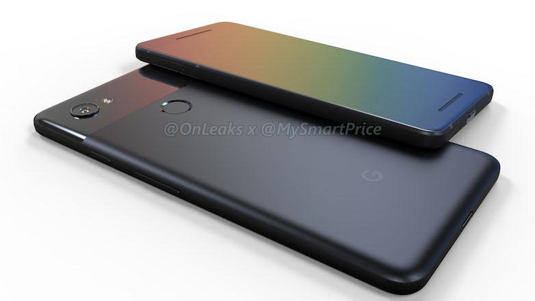 Смартфоны Google Pixel 2 и Pixel XL 2 показались на рендерах и видео