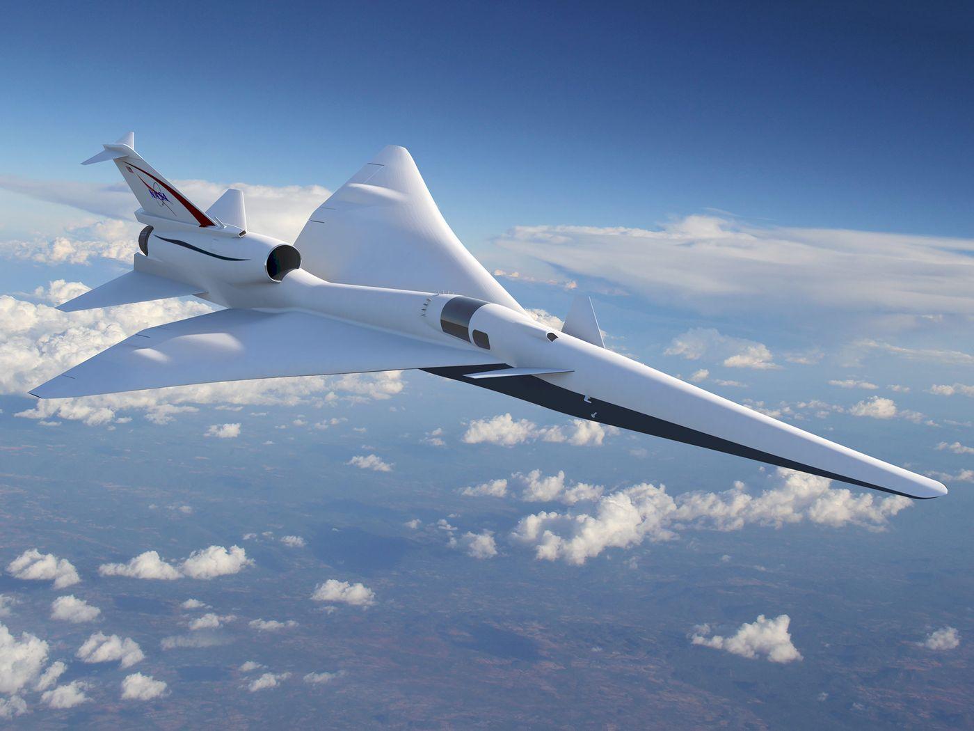 NASA создает сверхзвуковой пассажирский самолет