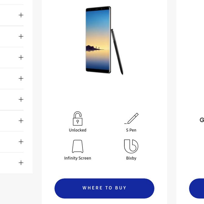 Samsung Galaxy Note 8 засветился на официальном сайте Samsung