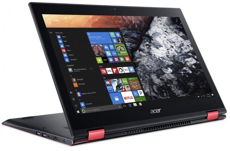 Acer представила перевертыш Nitro 5 Spin на базе Intel Core восьмого поколения