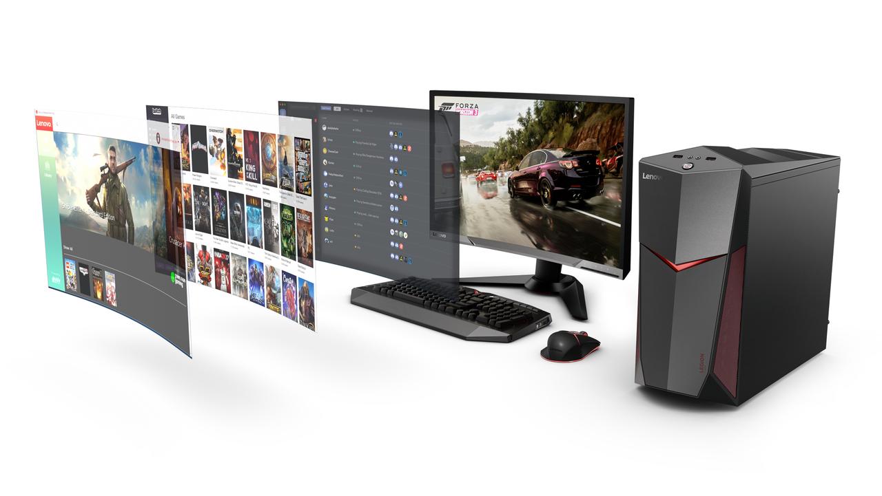 Lenovo представила три игровых десктопа Legion с поддержкой виртуальной реальности