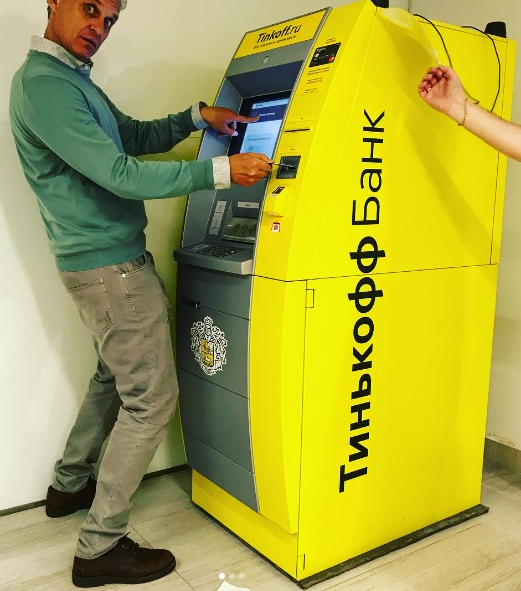 Тинькофф Банк запустил собственные банкоматы с системой распознавания лиц