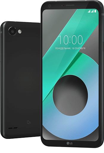 Объявлена российская цена LG Q6