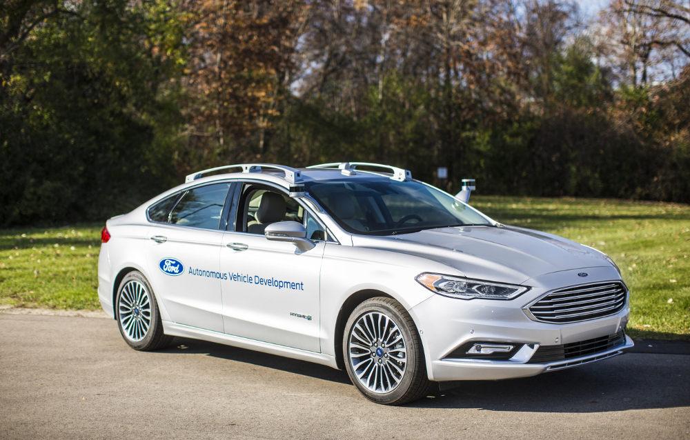 Ford выпустит беспилотник для каршеринга в 2021 году