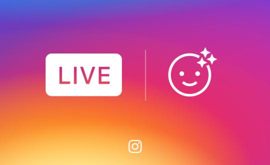 Instagram запустил маски в трансляциях