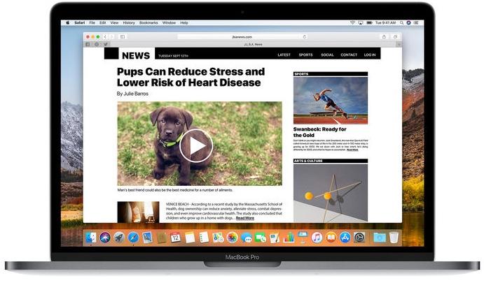 Apple выпустила macOS High Sierra