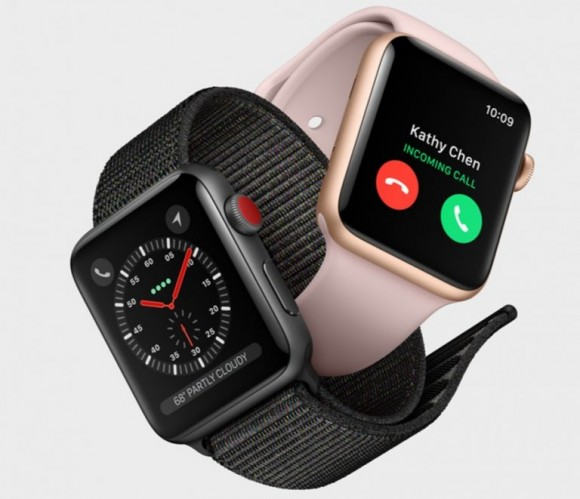 Apple починила LTE в смарт-часах Apple Watch Series 3