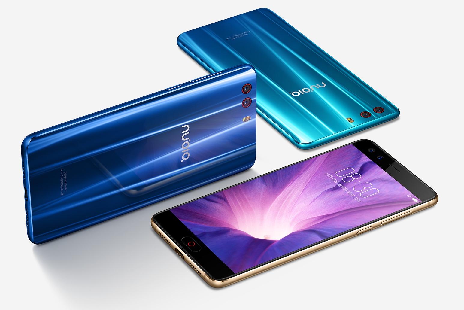 Смартфон ZTE Nubia Z17 miniS получил четыре камеры