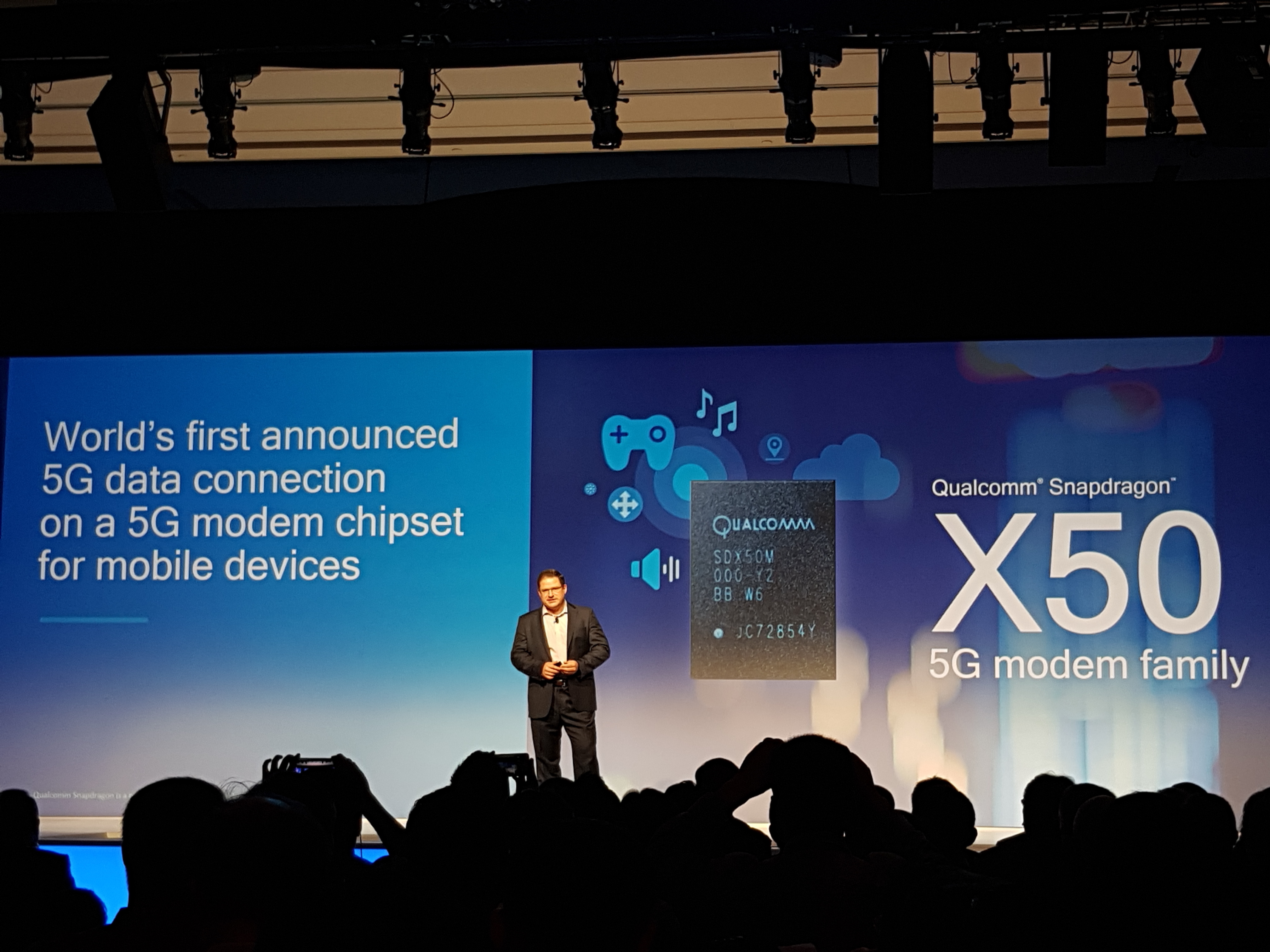 Qualcomm представила первый 5G-модем для смартфонов