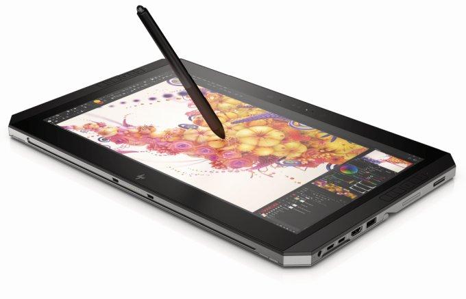 HP представила продвинутый гибридный планшет ZBook x2