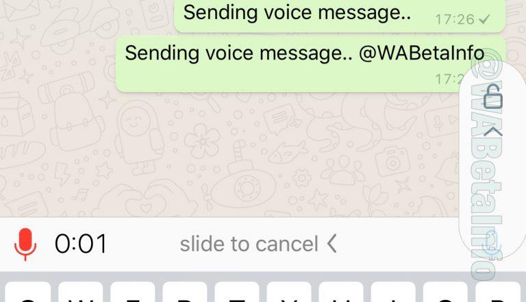 WhatsApp тестирует простую отправку голосовых сообщений