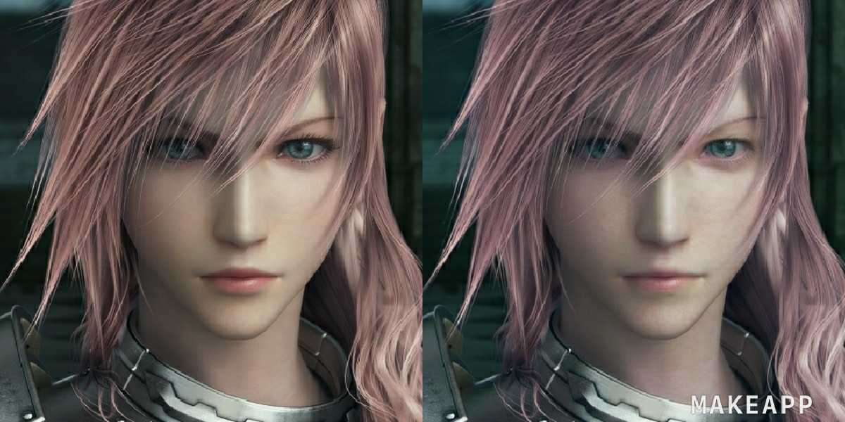 Лайтнинг из Final Fantasy