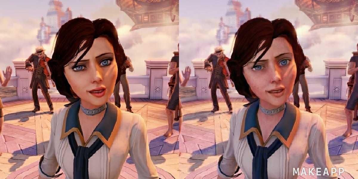Элизабет из Bioshok Infinite