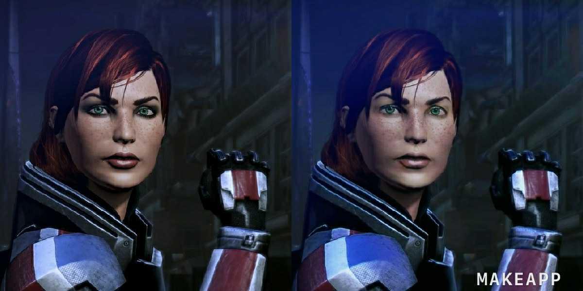 Джейн Шепард из Mass Effect 3