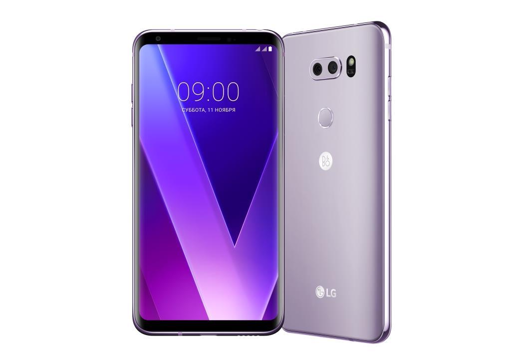 Объявлена российская цена флагманского LG V30+