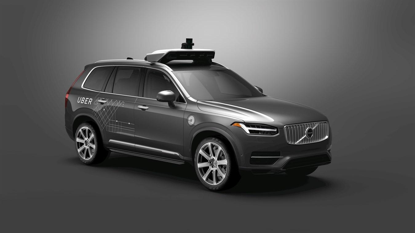 Volvo обеспечит Uber беспилотниками