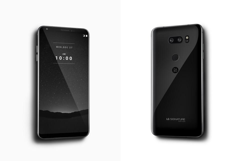 LG запускает премиальную версию V30
